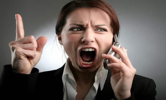 Побочное действие проявляется в нервозности