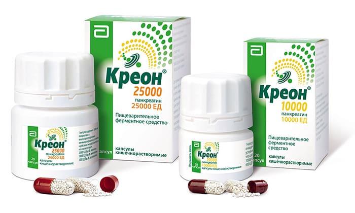 К аналогам препарата Панкреатин-ЛекТ относят Креон