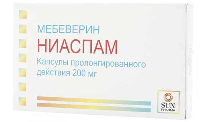 Ниаспам - эффективный индийский медикамент, где в качестве активного компонента выступает мебеверин