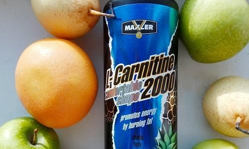 Л-карнитин Comfortable Shape 2000 от Maxler продается в бутылках по 1 л жидкого концентрата и в ампулах по 2000 мг активного вещества в каждой