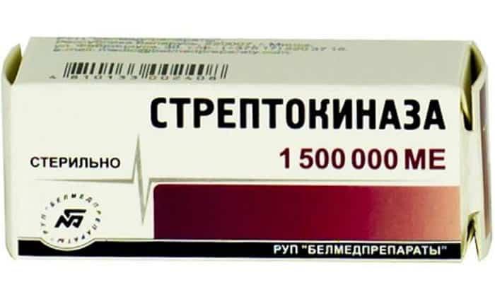 При приеме препарата Апротекс происходит подавление фибринолитических средств (Стрептокиназа и др.)