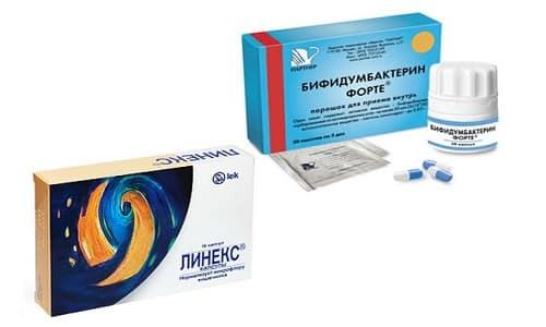 Выбирая Бифидумбактерин или Линекс, необходимо обратить внимание на состав данных пробиотиков