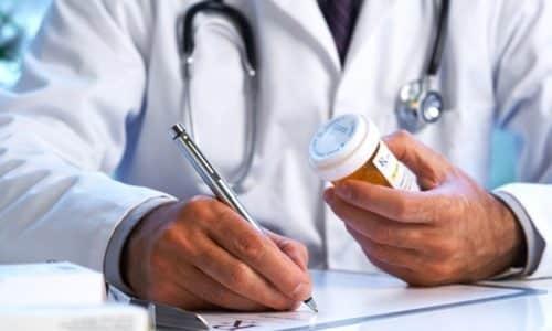 Длительность приема определяется врачом