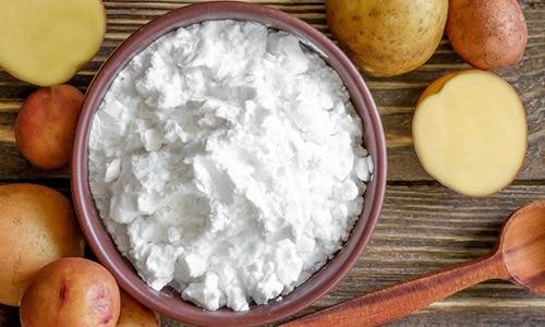 В состав добавки входит картофельный крахмал