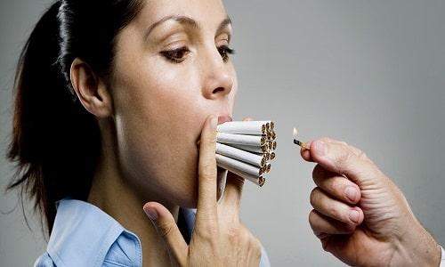 Следует учитывать то, что эффективность препарата снижается, если при его использовании потреблять никотин (курить сигареты)