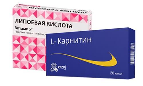 Липоевая кислота и Л-карнитин помогают при похудении