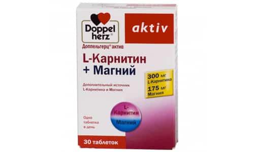 Л-карнитин Доппельгерц - биологически активная пищевая добавка, являющаяся источником левокарнитина и магния