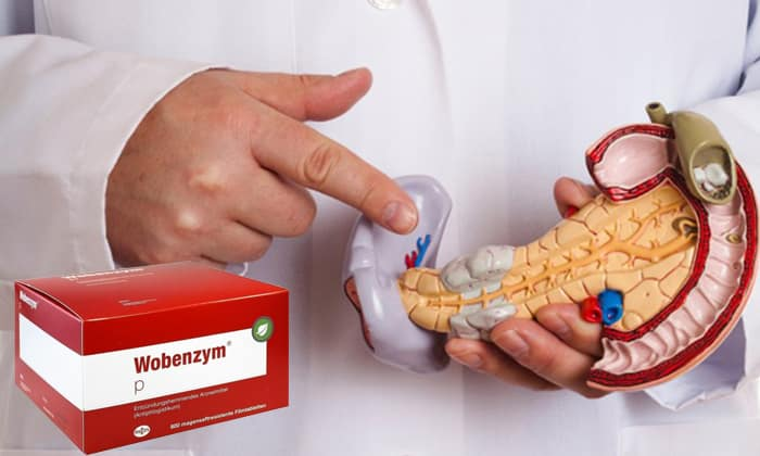 Медикамент Вобэнзим активно используется в терапии панкреатита и гепатита в гастроэнтерологии