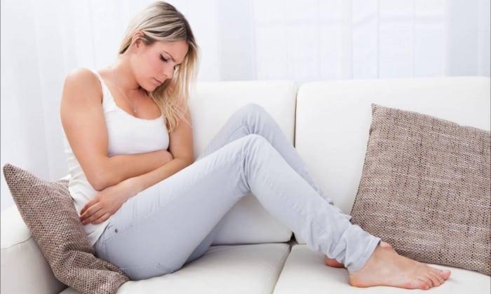 Побочным явлением может быть боль в животе