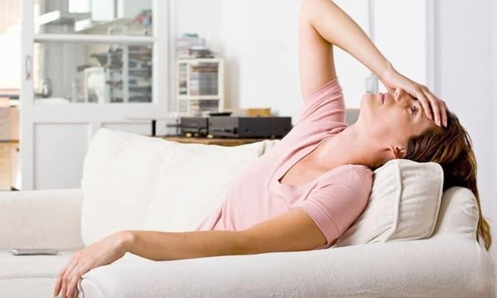 После приема Метоклопрамида может возникнуть усталость