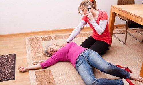 Передозировка препаратом Дротаверин проявляется потерей сознания