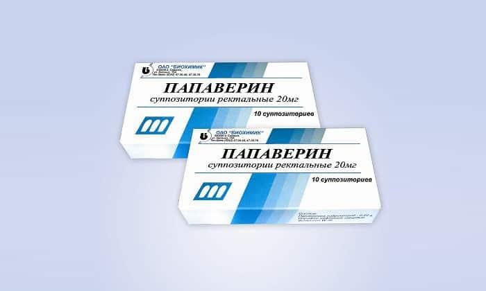 Папаверин применяется при спастических болях в ЖКТ, вызванных синдромом раздраженного кишечника