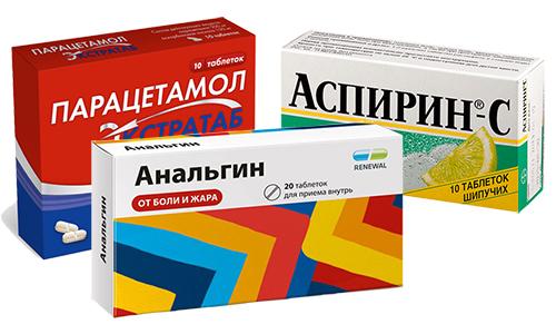 Анальгин, Парацетамол и Аспирин считаются самыми распространенными лекарствами с похожим воздействием