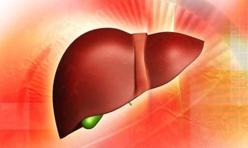 Липоевая кислота восстанавливает клетки печени