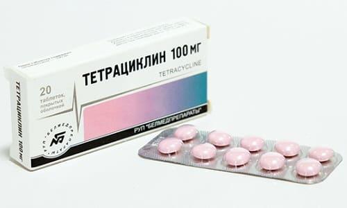 Тетрациклин в комбинации с рассматриваемым препаратом не будет усваиваться