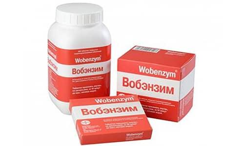Препарат Вобэнзим имеет иммуномодулирующий, противовоспалительный, противоотечный и фибринолитический эффекты