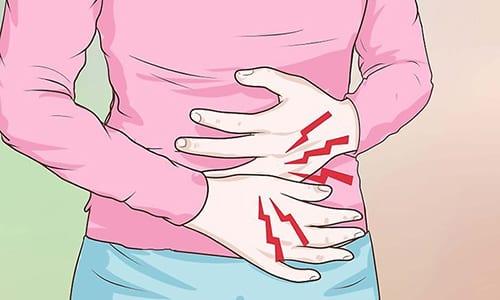 Лекарственное средство Необутин используется при симптоматической терапии дискомфорта и болезненных ощущений в брюшной полости