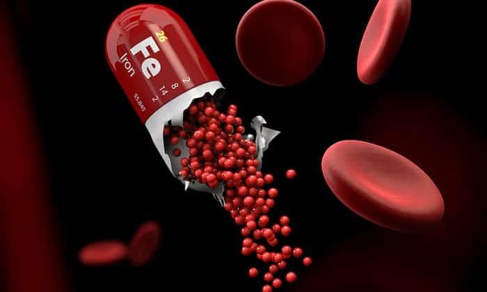 На фоне длительного приема медикамента рекомендуется дополнительно пользоваться препаратами железа