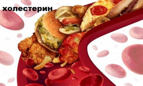Мексидол снижает уровень холестерина