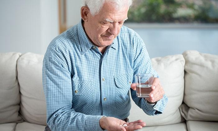 Для пожилых, возможно раскрыть капсулу и употребить препарат в виде мини-таблеток