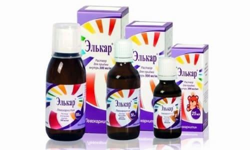Препарат выпускается в форме раствора для перорального приема