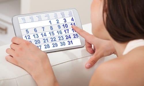 Как правило, терапия длится месяц, после чего следует сделать перерыв