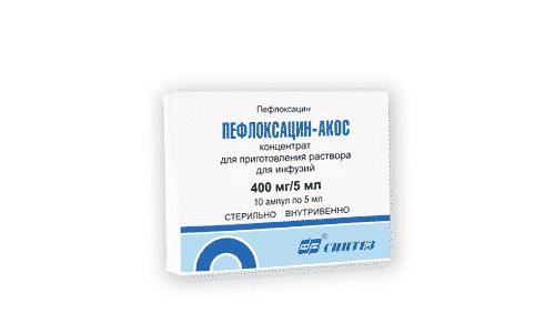Пефлоксацин используется для профилактики и лечения инфекций мочевыделительной, половой системы и ЦНС