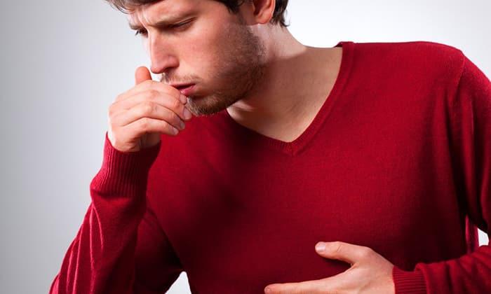 Побочным эффектом препарата Алмагель является нарушение дыхания