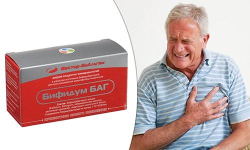 Бифидум БАГ уменьшает вероятность инфаркта и инсульта