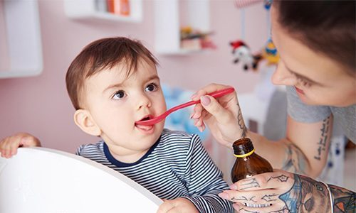 Для детей 3-6 лет разовая доза - 100 мг 2-3 раза в день, суточная доза - 200-300 мг