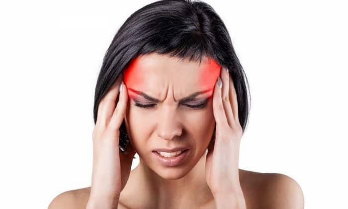 Возможное побочное действие препарата - головная боль