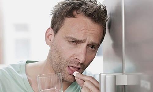 Таблетки нужно пить внутрь, не надламывая и не пережевывая