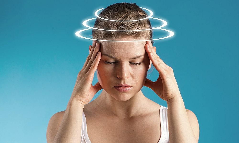 Иногда вследствие приема Дюспаталина может возникнуть головокружение