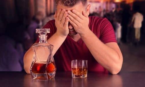 При хроническом алкоголизме наблюдается дефицит тиамина, витамин, входящий в состав БАД, теряется организмом