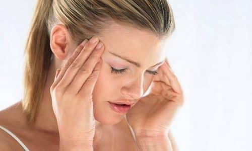 Побочный эффект от применения Но-шпы и Дротаверина может проявиться головокружением, головными болями