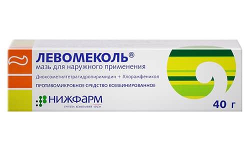 Левомеколь эффективнее при лечении ссадин, порезов, не заживших ран