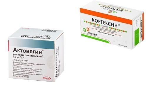 Кортексин и Актовегин запрещено принимать при наличии индивидуальной непереносимости активных компонентов