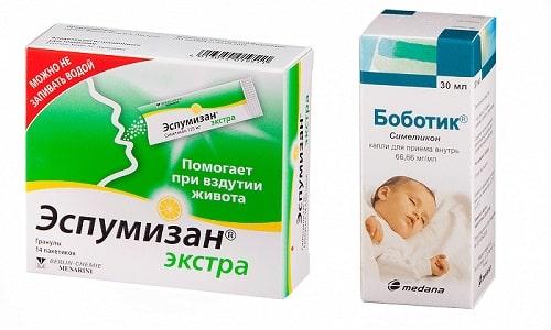 Эспумизан или Боботик - лекарственные средства, применяемые для нормализации моторной функции ЖКТ