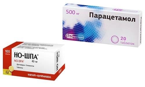 Совместный прием Парацетамола и Но-шпы может быстро купировать проявления гипертермии