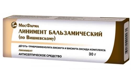 Линимент Вишневского можно применять при гнойных ранах, гайморите, геморрое, инфекционных гинекологических патологиях